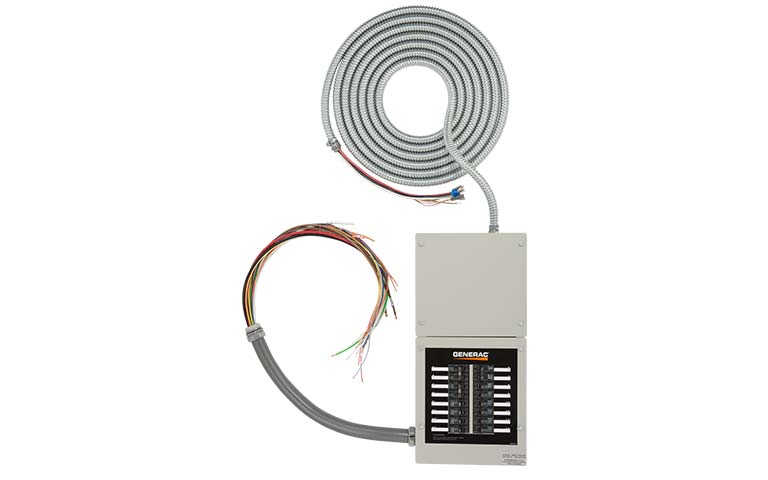 16 circuit pre wired transfer switch home backup current electric, inc Generac Automatic Transfer Switches Wiring at bayanpartner.co